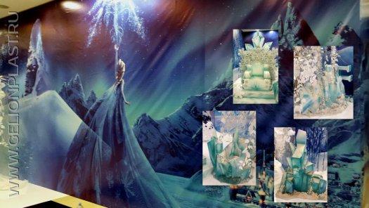 Декорации «Дворец Снежной Королевы»