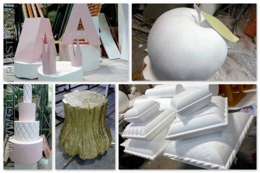 Декорации и буквы для оформления Дня Рождения