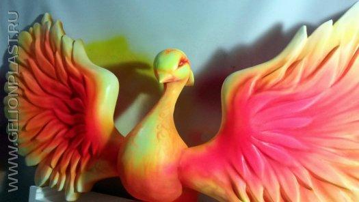 Жар-птица из пенопласта