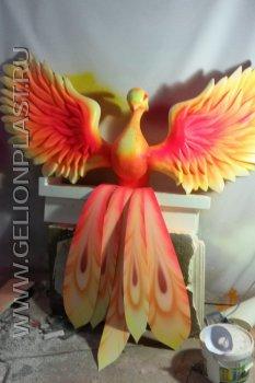 Жар-птица (Огнивак) из пенопласта