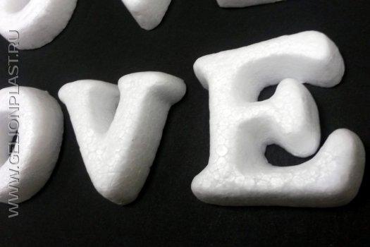 Готовые фигуры из пенопласта - буквы