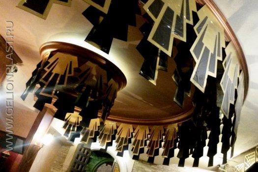Оформление интерьера ресторана для празднования Дня Рождения