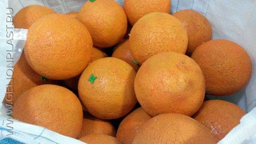 Апельсины из пенопласта