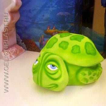 Краш, черепаха из пенопласта