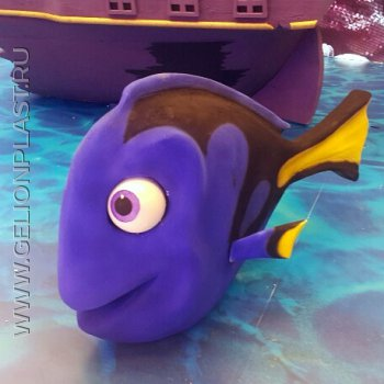 Рыба из пенопласта