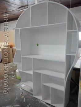 Оформление офиса GOOGLE Space:шкаф в виде головы