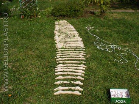 Деревянный гамак на заказ