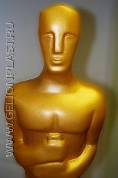 Золотой «Оскар» из пенопласта 2016