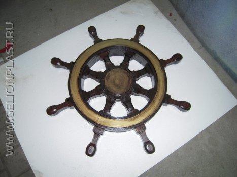 Корабельный штурвал из пенопласта