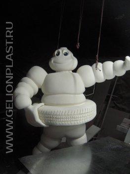 Michelin Bibendum из пенопласта