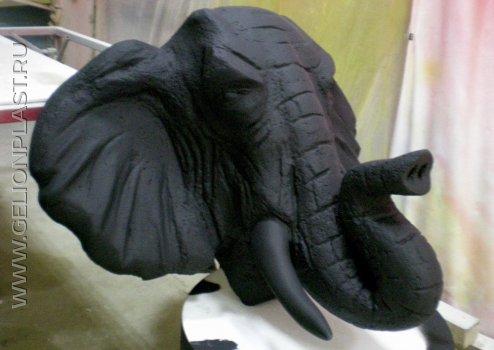 Слон  из пенопласта