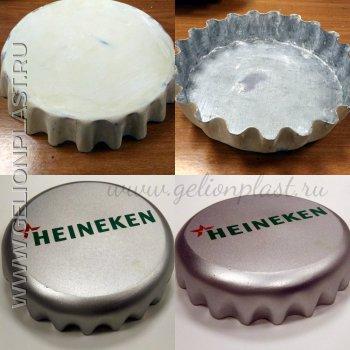 Большая пробка Heineken
