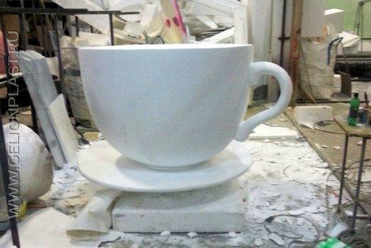 Чашка для кофе из пенопласта