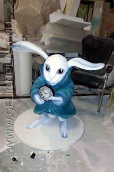 Мартовский заяц из пенопласта 2
