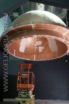 Купол из пенополистирола