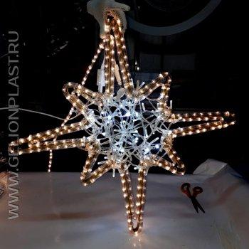 Оконечия (звезды) для новогодней елки