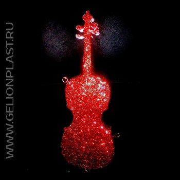 Скрипка из пенопласта