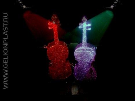 Скрипки из пенопласта