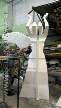 """Статуя """"Ника"""" богиня победы из пенопласта"""