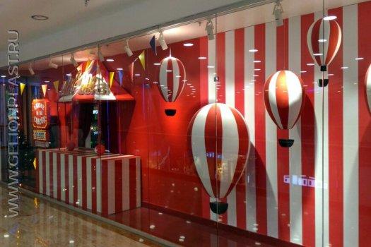 Воздушные шары из пенопласта