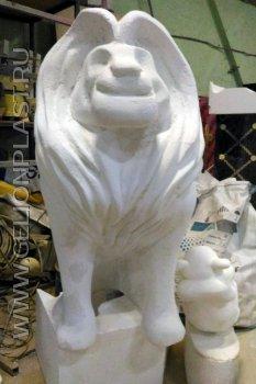 Персонажи мультфильма «Король Лев» из пенопласта