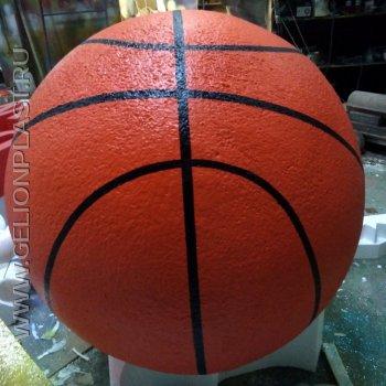 Баскетбольные мячи из пенопласта