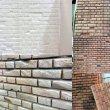 """Пенопластовая """"кирпичная"""" стена"""