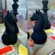 Шахматные фигуры из пенопласта