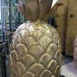 Золотой ананас из пенопласта