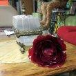 Аленький цветочек из пластика со светодиодной подсветкой