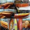 Доски для серфинга для акции Pulpy из пенопласта